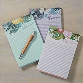 Modern Botanical Personalized Notepad - 19230