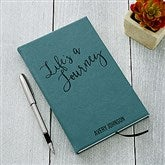 Adventure Awaits Personalized Teal Writing Journal - 19232