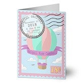 Special Delivery Personalized Baby Girl Greeting Card - 19242