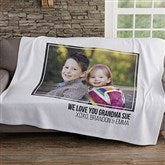 Photo Personalized Sweatshirt Blanket - 19247-1