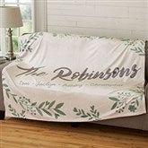 Cozy Home Personalized 60x80 Fleece Blanket - 19265-L