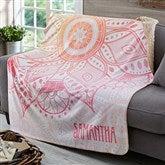 Mandala Personalized Premium 50x60 Sherpa Blanket - 19305