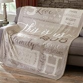 This Is Us Personalized 60x80 Fleece Blanket - 19310-L