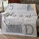 This Is Us Personalized Premium 60x80 Sherpa Blanket - 19311-L