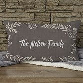 Cozy Home Personalized Lumbar Throw Pillow - 19313-LB