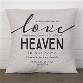 Heaven In Our Home Personalized 18