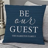 Be Our Guest Personalized 18