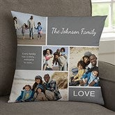 Family Love Photo Collage Personalized 14