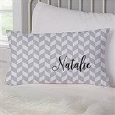 Patterned Name Meaning Personalized Lumbar Throw Pillow - 19321-LB