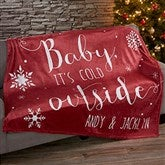 Christmas Quotes Personalized 60x80 Fleece Blanket - 19359-L