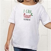 Dear Santa Personalized Toddler T-Shirt - 19372-TT
