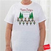 Reindeer Family Personalized Hanes® T-Shirt - 19379-T
