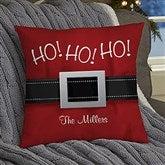HO! HO! HO! Santa Belt Personalized 14