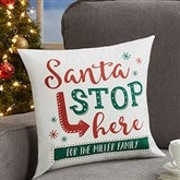 Santa Stop Here Personalized 14