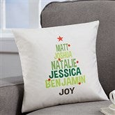 Christmas Family Tree Personalized 14