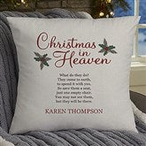 Christmas In Heaven Personalized 18