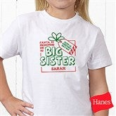 Promoted By Santa Personalized Hanes® Youth T-Shirt - 19394-YCT
