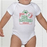 Promoted By Santa Personalized Baby Bodysuit - 19394-CBB