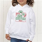 Promoted By Santa Personalized Toddler Hooded Sweatshirt - 19394-CTHS