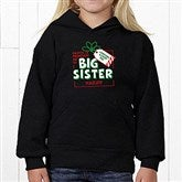 Promoted By Santa Personalized Youth Hooded Sweatshirt - 19394-YHS