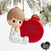 Precious Moments® Personalized Baby Boy Ornament - 19398-B