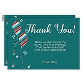 Birthday Boy Personalized Thank You Cards - 19401