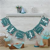 Birthday Boy Personalized Paper Banner - 19405