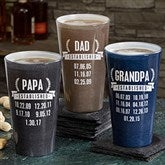 Date Established Personalized Pint Glass - 19410