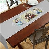 Family Photo Collage Personalized Table Runner - 3 Photo - 19425-3