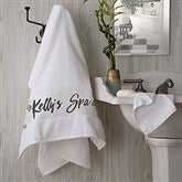 Cozy Home Personalized Bath Towel - 19434