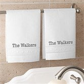 Classic Celebrations Personalized Linen Guest Towel Set - 19436