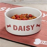 Farmhouse Pet Personalized Dog Bowl - Small - 19441-S