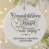 Grandparents Are Special Personalized Premium Ornament - 19444