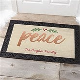 Cozy Christmas Personalized Doormat- 20x35 - 19462-M