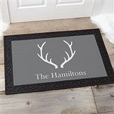 Winter Silhouette Personalized Doormat- 20x35 - 19463-M