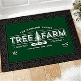 Vintage Holiday Personalized Doormat- 18x27 - 19465