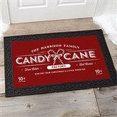 Vintage Holiday Personalized Doormat- 20x35 - 19465-M