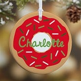 1-Sided Donut Fun Personalized Ornament - 19483-1