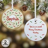 2-Sided Donut Fun Personalized Ornament - 19483-2