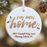 1-Sided Our New Home Personalized Ornament - 19484-1