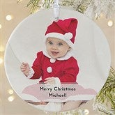 1-Sided Precious Photo Message Personalized Ornament-Large - 19500-1L