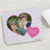 Love You This Much! Personalized Photo Mouse Pad - 19517