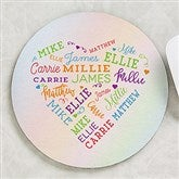 Close To Her Heart Personalized Round Mouse Pad - 19518