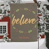 Cozy Christmas Personalized Garden Flag - 19520