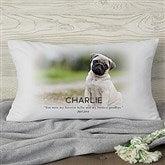 Pet Memorial Personalized Lumbar Throw Pillow - 19549-LB