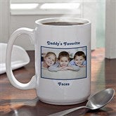 Picture Perfect Personalized Coffee Mug- 15 oz. - 1956-L