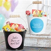 Write Your Own Expressions Personalized Mini Metal Bucket - 19577