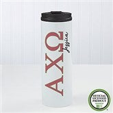 Alpha Chi Omega Personalized 16 oz. Travel Tumbler - 19602