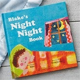 The Night Night Book for Boys Personalized Storybook - 19641D-B