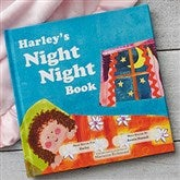The Night Night Book for Girls Personalized Storybook - 19641D-G